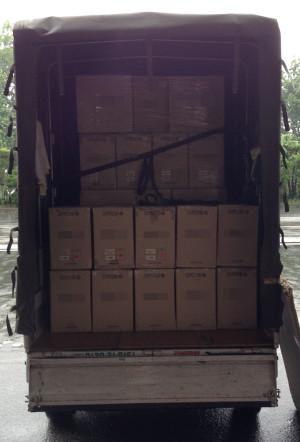 個数の多い運送・納品代行